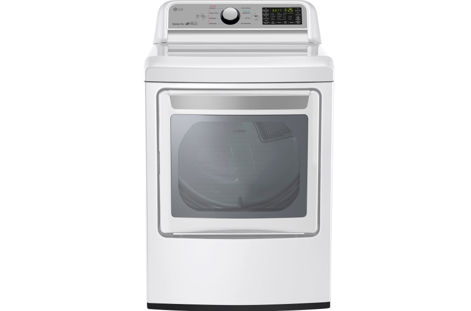 LG 7.3 cu. ft. Smart wi-fi Enabled Gas Dryer w/ Sensor Dry Technology
