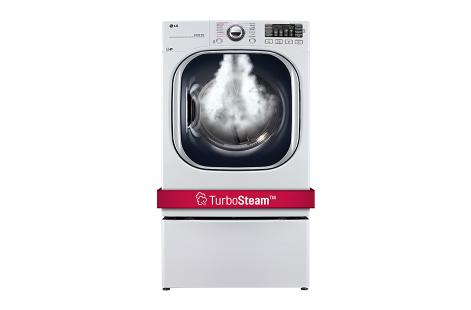 LG 7.4 cu. ft. Ultra Large Capacity TurboSteam™ Gas Dryer