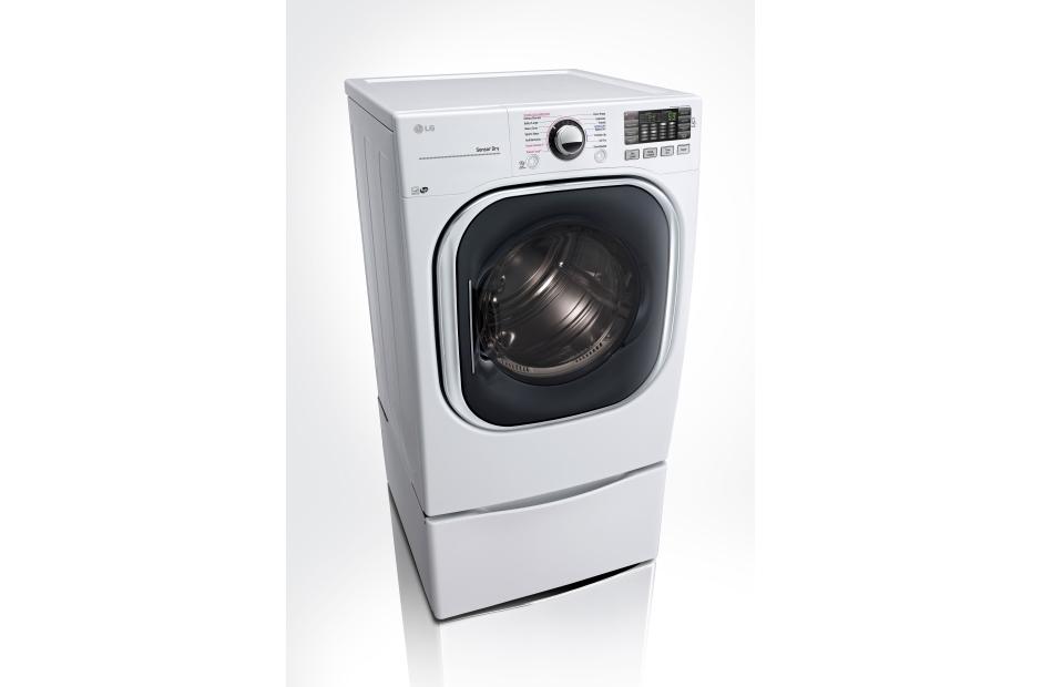 Model: DLGX4371W | 7.4 cu. ft. Ultra Large Capacity TurboSteam™ Gas Dryer