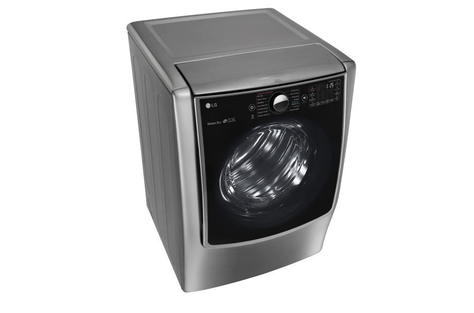 Model: DLGX9001V | LG 9.0 cu. ft. Large Smart wi-fi Enabled Gas Dryer w/ TurboSteam™