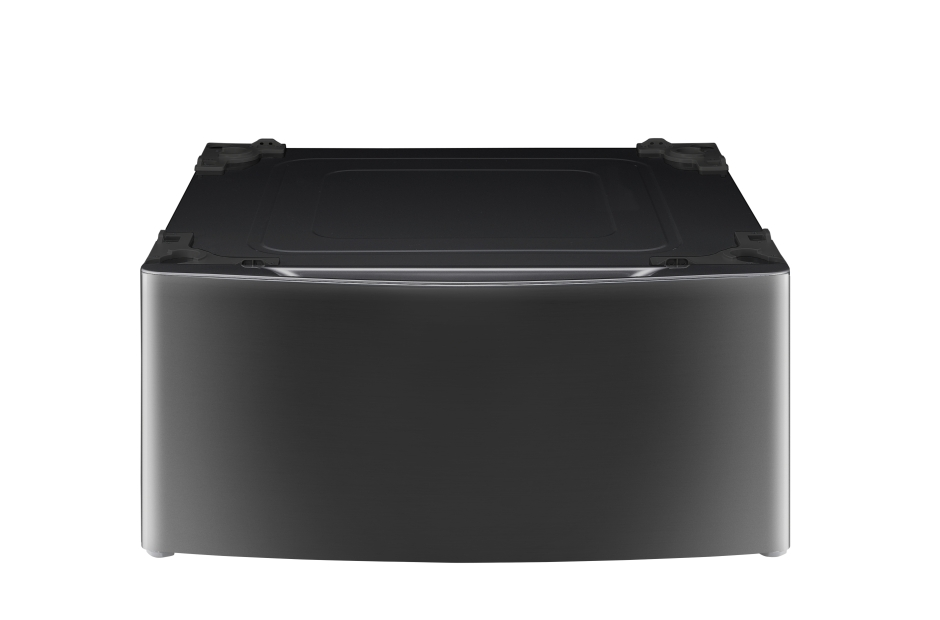Laundry Pedestal – Black Stainless Steel