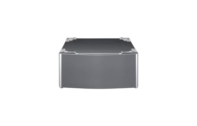 Model: WDP5V | LG Laundry Pedestal - Graphite Steel