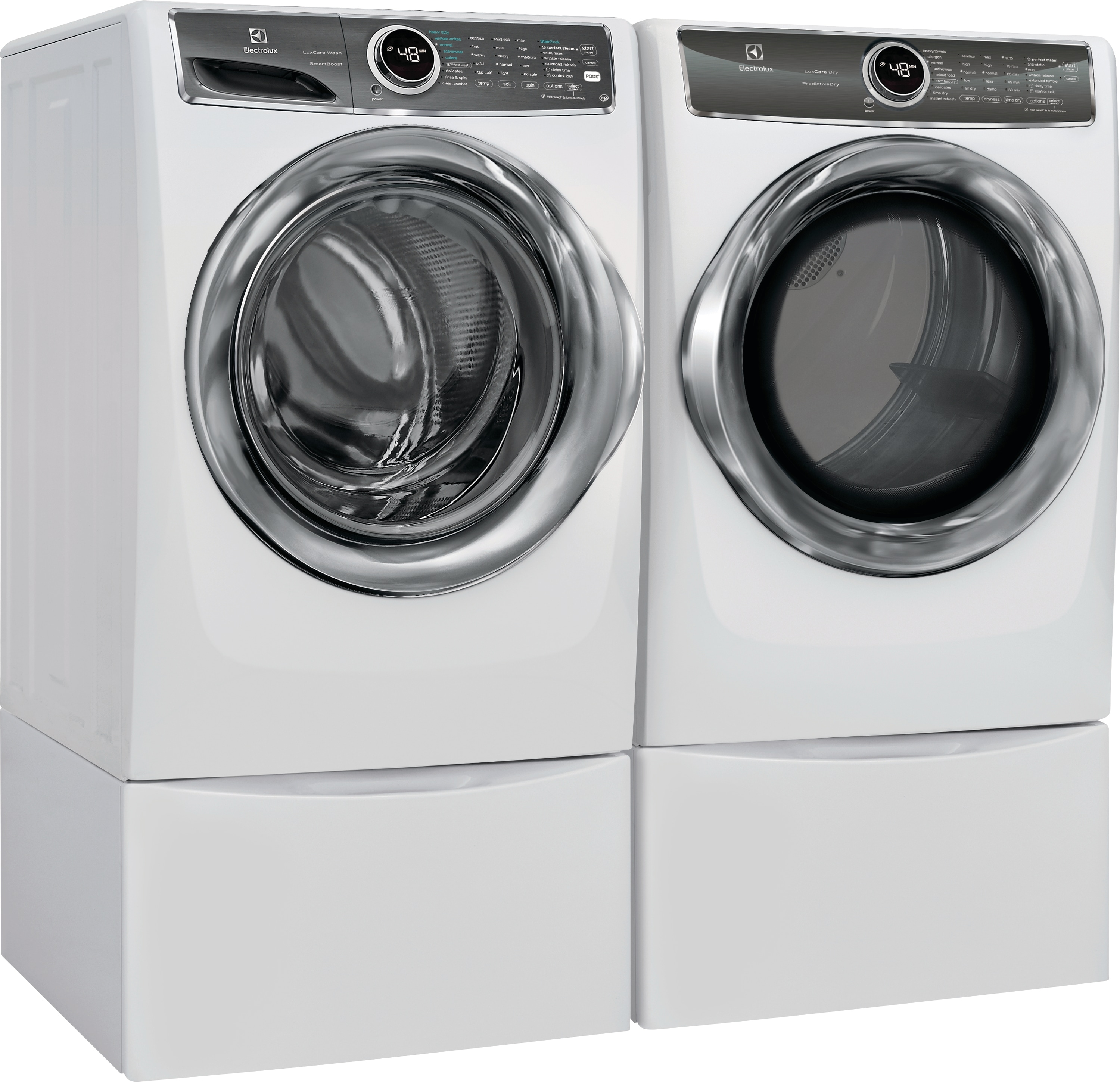 Front Load Perfect Steam™ Washer with LuxCare® Wash and SmartBoost® - 4.4 Cu.Ft.