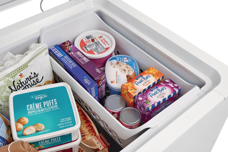 24.8 Cu. Ft. Chest Freezer