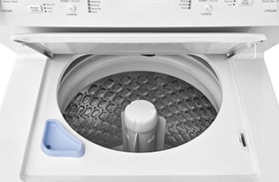 Electric Washer/Dryer Laundry Center - 3.9 Cu. Ft Washer and 5.5 Cu. Ft. Dryer