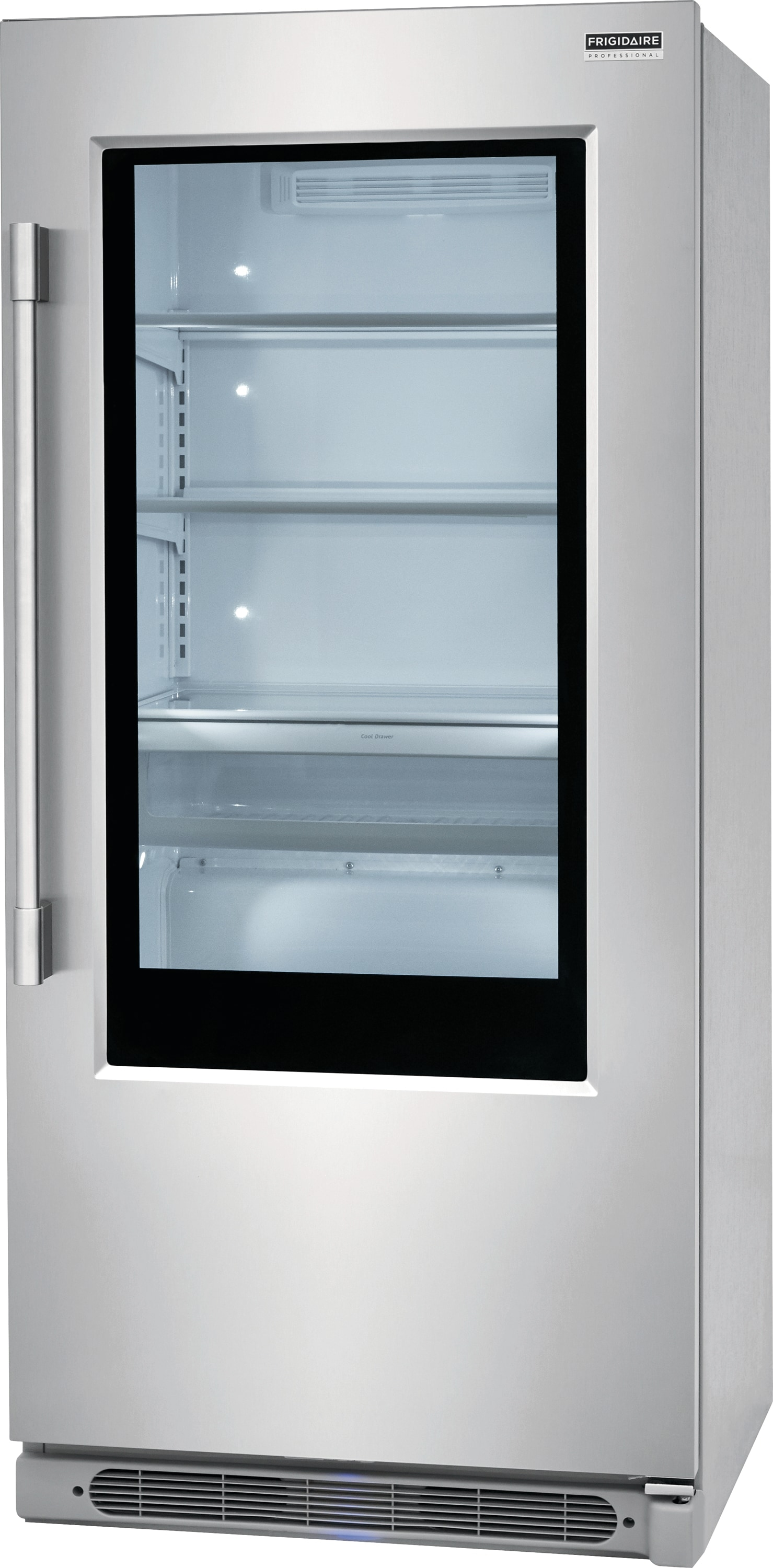 19 Cu. Ft. Glass Door All Refrigerator