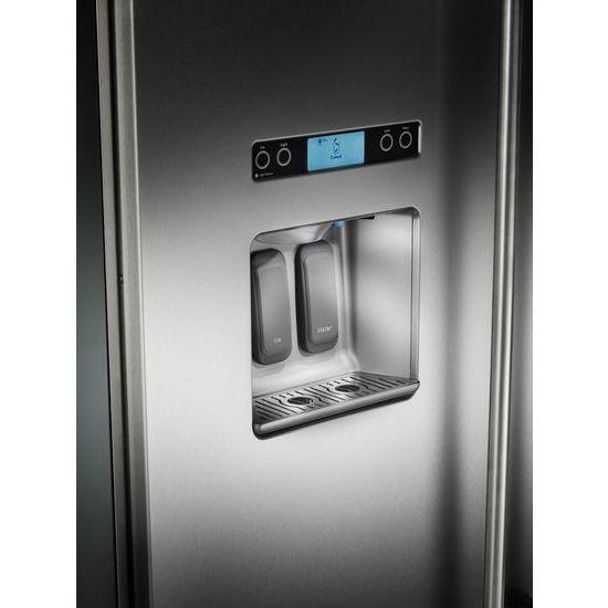 29.5 cu. ft 48-Inch Width Built-In Side by Side Refrigerator