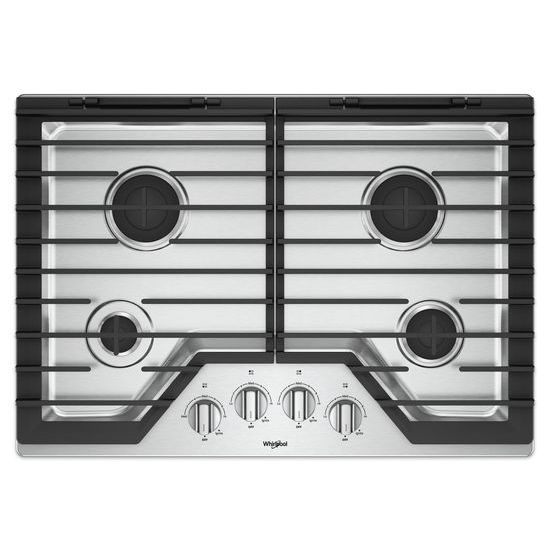 30-inch Gas Cooktop with EZ-2-Lift™ Hinged Cast-Iron Grates