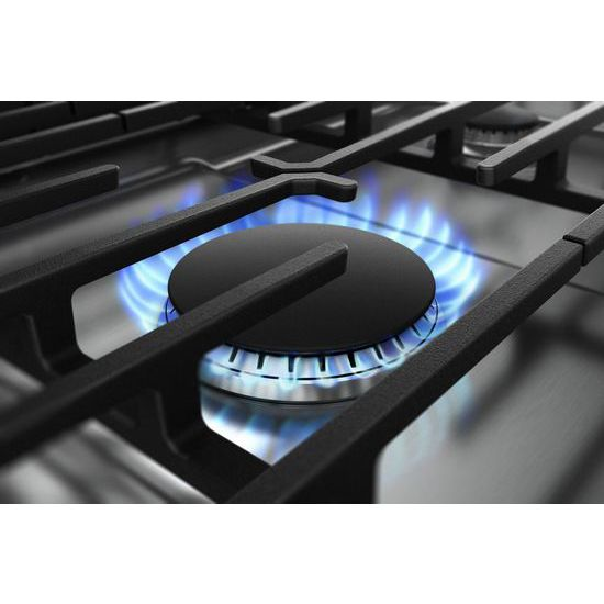 Model: WCG97US0HS | Whirlpool 30-inch Gas Cooktop with Griddle