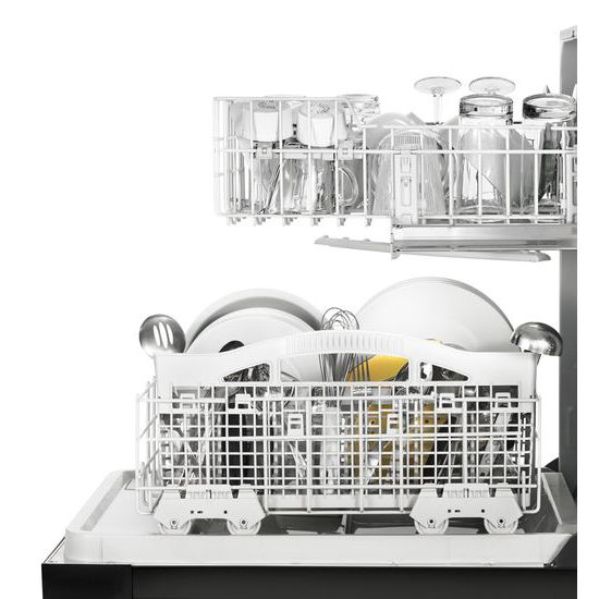 Model: WDF330PAHB | Whirlpool Heavy-Duty Dishwasher with 1-Hour Wash Cycle
