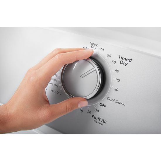 7.0 cu. ft. Top Load Electric Dryer with AutoDry™ Drying System