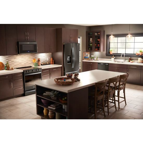 Model: WEE750H0HV | Whirlpool 6.4 cu. ft. Smart Slide-in Electric Range with Scan-to-Cook Technology