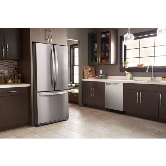 Model: WRF560SMHZ | Whirlpool 30-inch Wide French Door Refrigerator - 20 cu. ft.