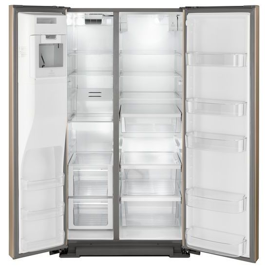Model: WRSA88FIHN | Whirlpool 36-inch Wide Contemporary Handle Side-by-Side Refrigerator - 28 cu. ft.