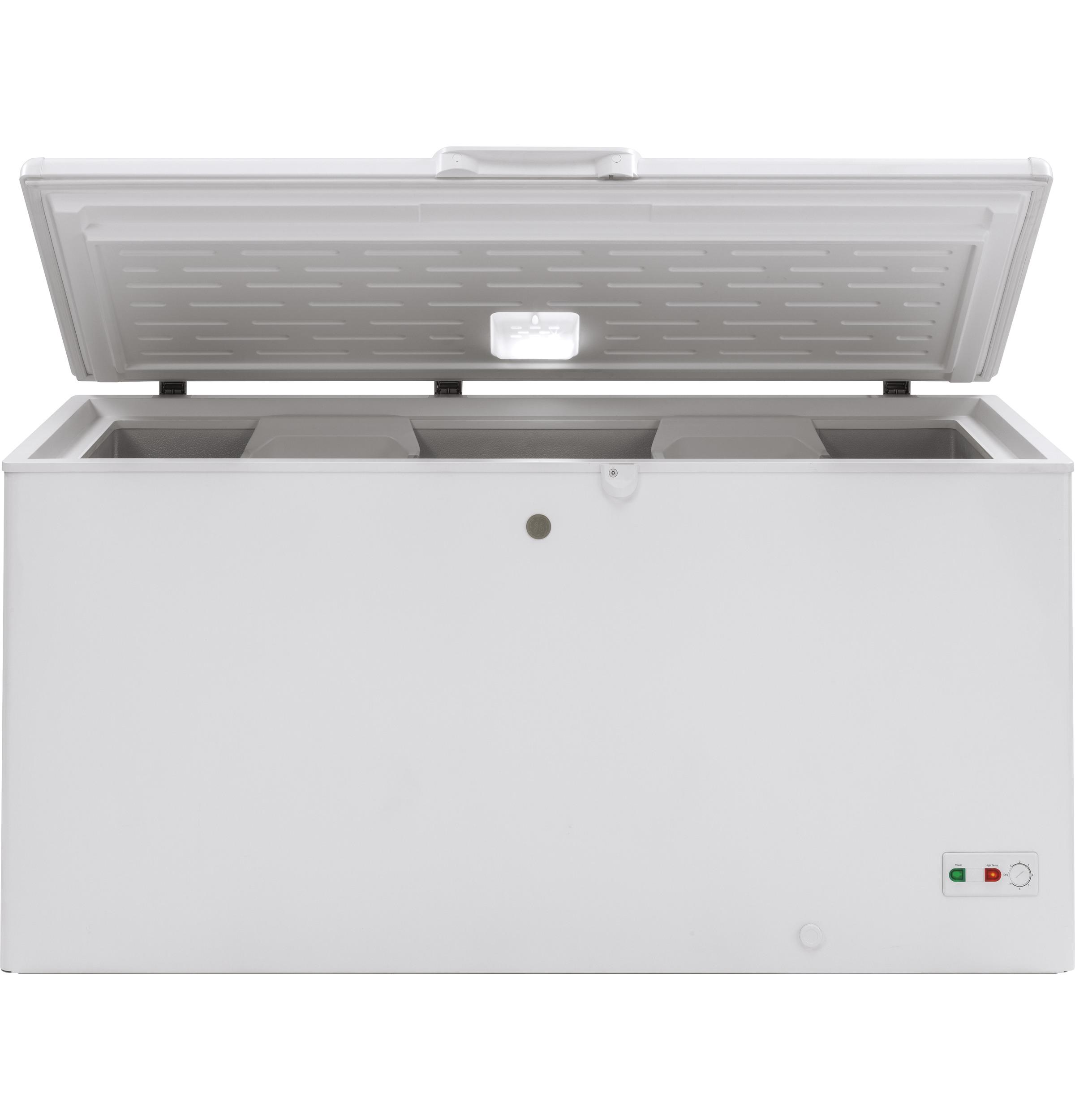 GE® 15.7 Cu. Ft. Manual Defrost Chest Freezer