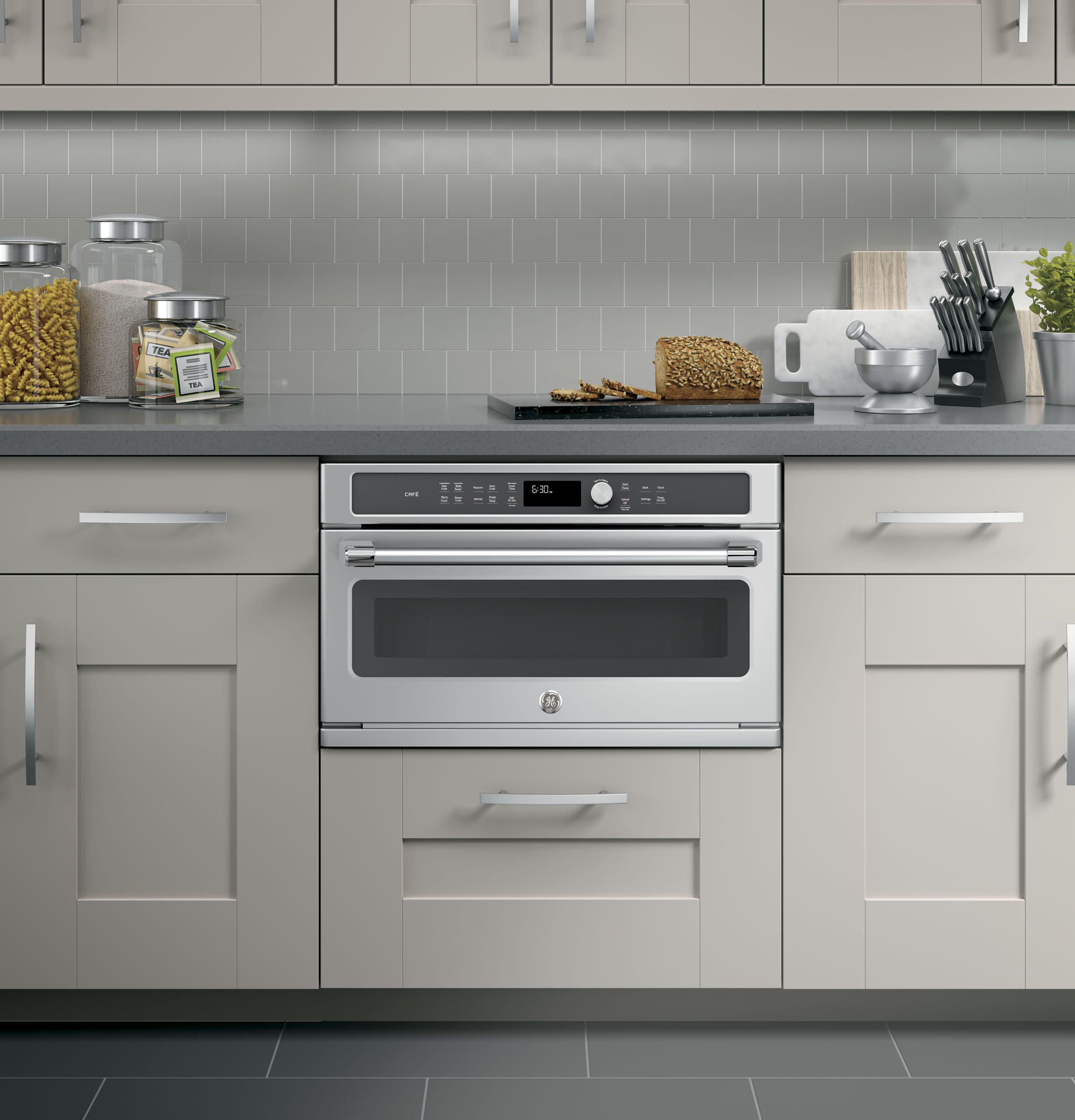 GE Café™ Series Built-In Microwave/Convection Oven