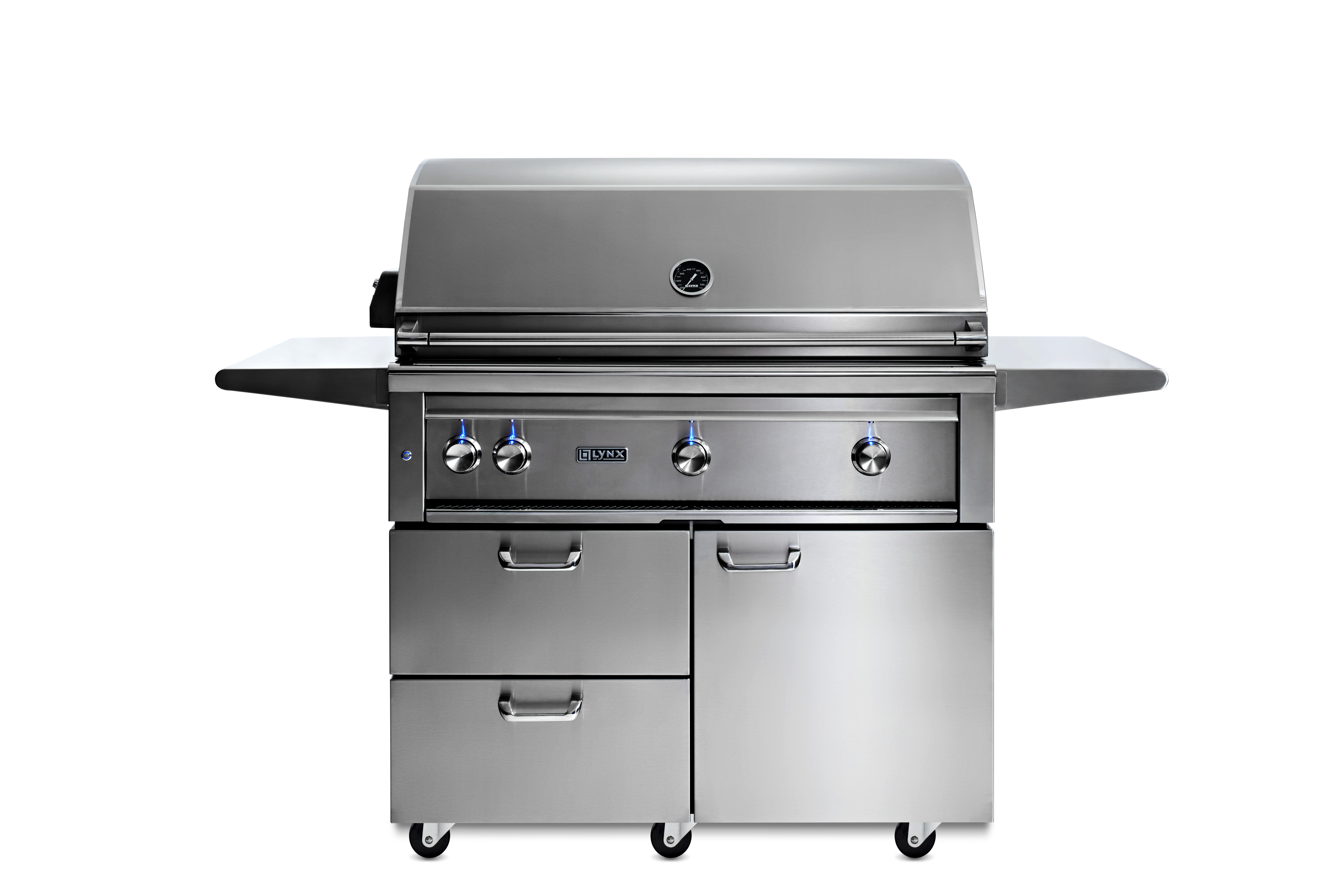"""Lynx 42"""" Lynx Professional All Trident™ Freestanding Grill Rotisserie, NG"""