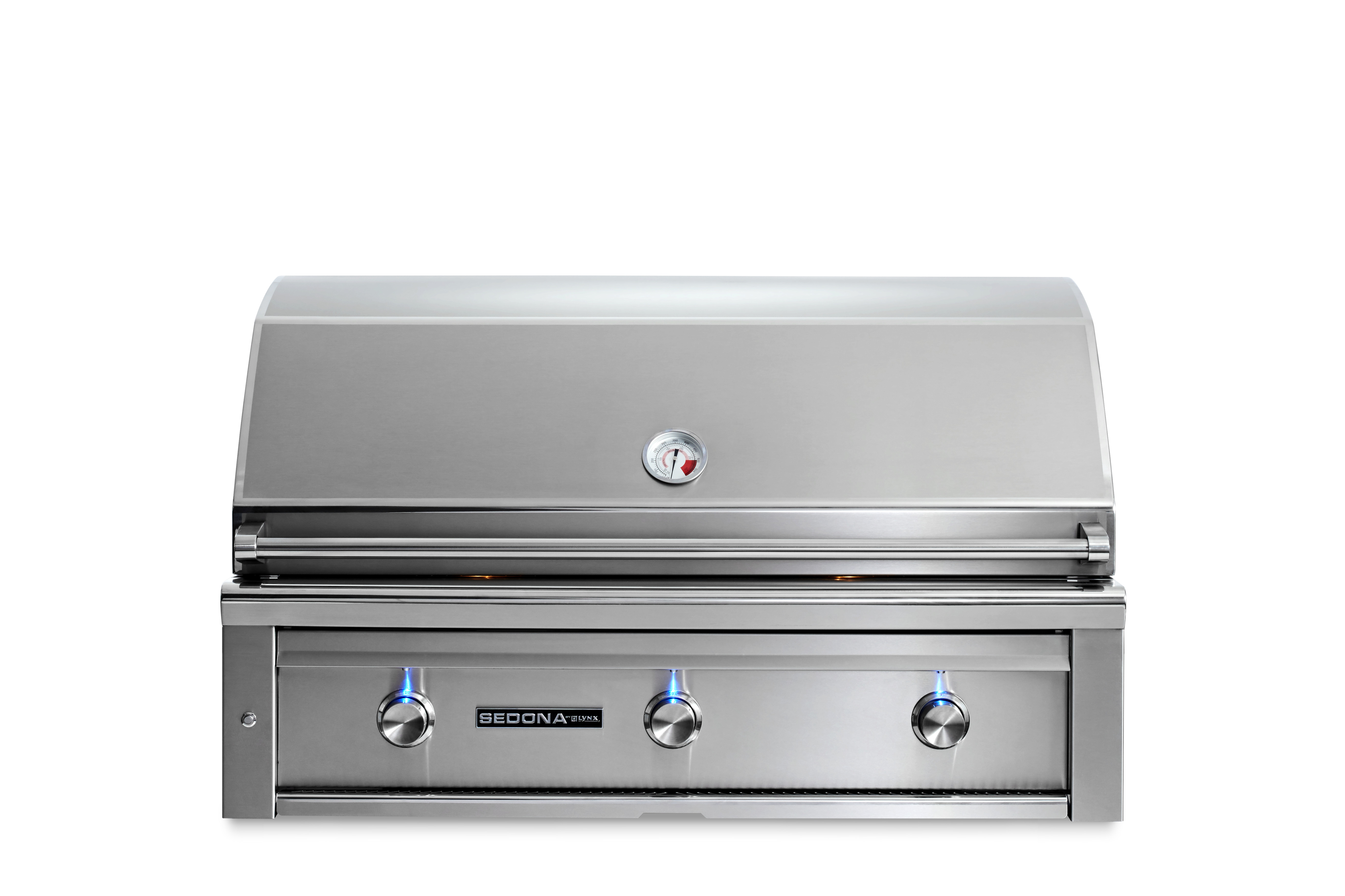 """Lynx 42"""" Sedona by Lynx Built In Grill with 3 Stainless Steel Burners, LP"""