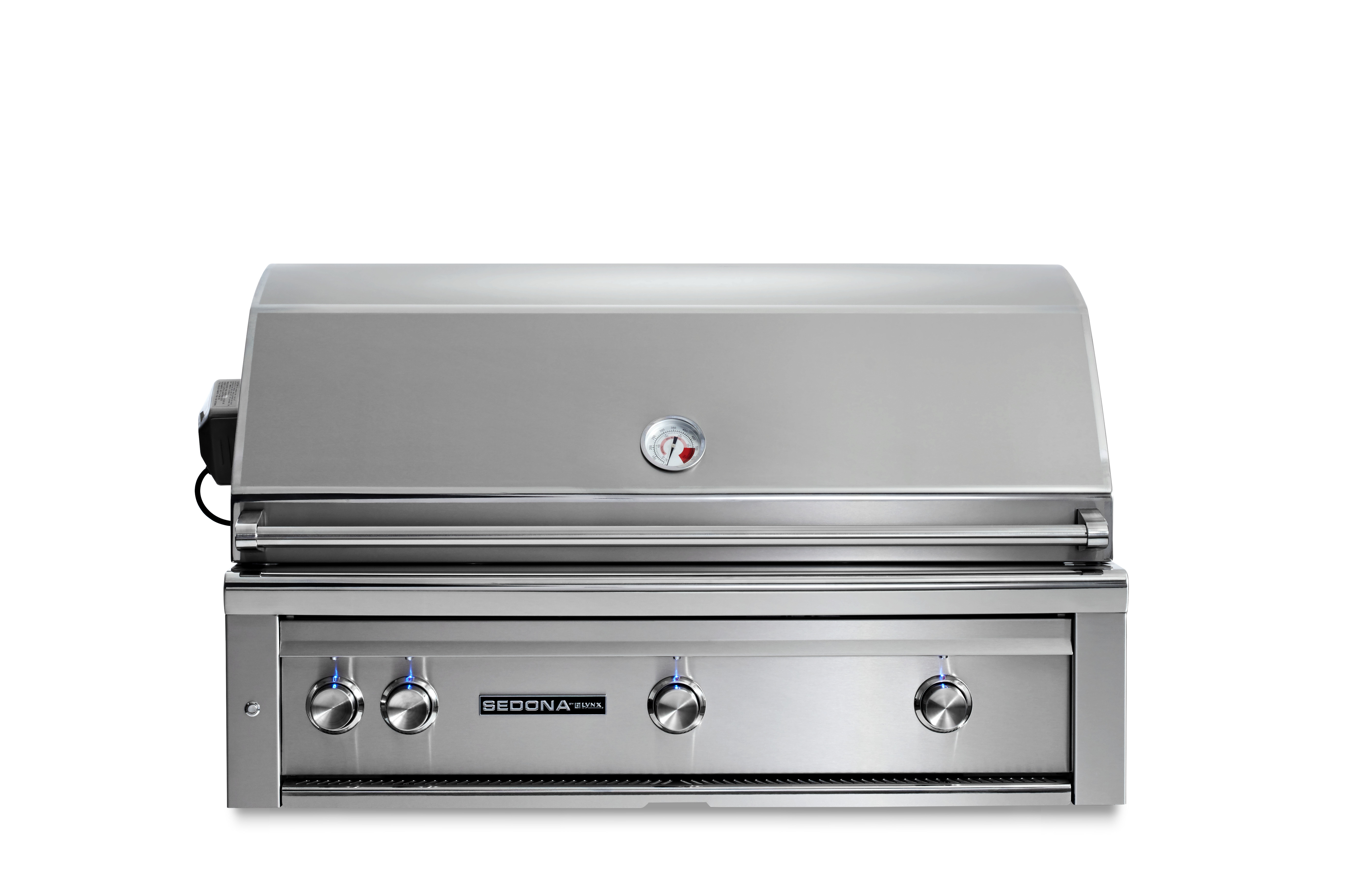 """Lynx 42"""" Sedona by Lynx Built In Grill with 2 Stainless Steel Burners and ProSear Burner and Rotisserie, LP"""