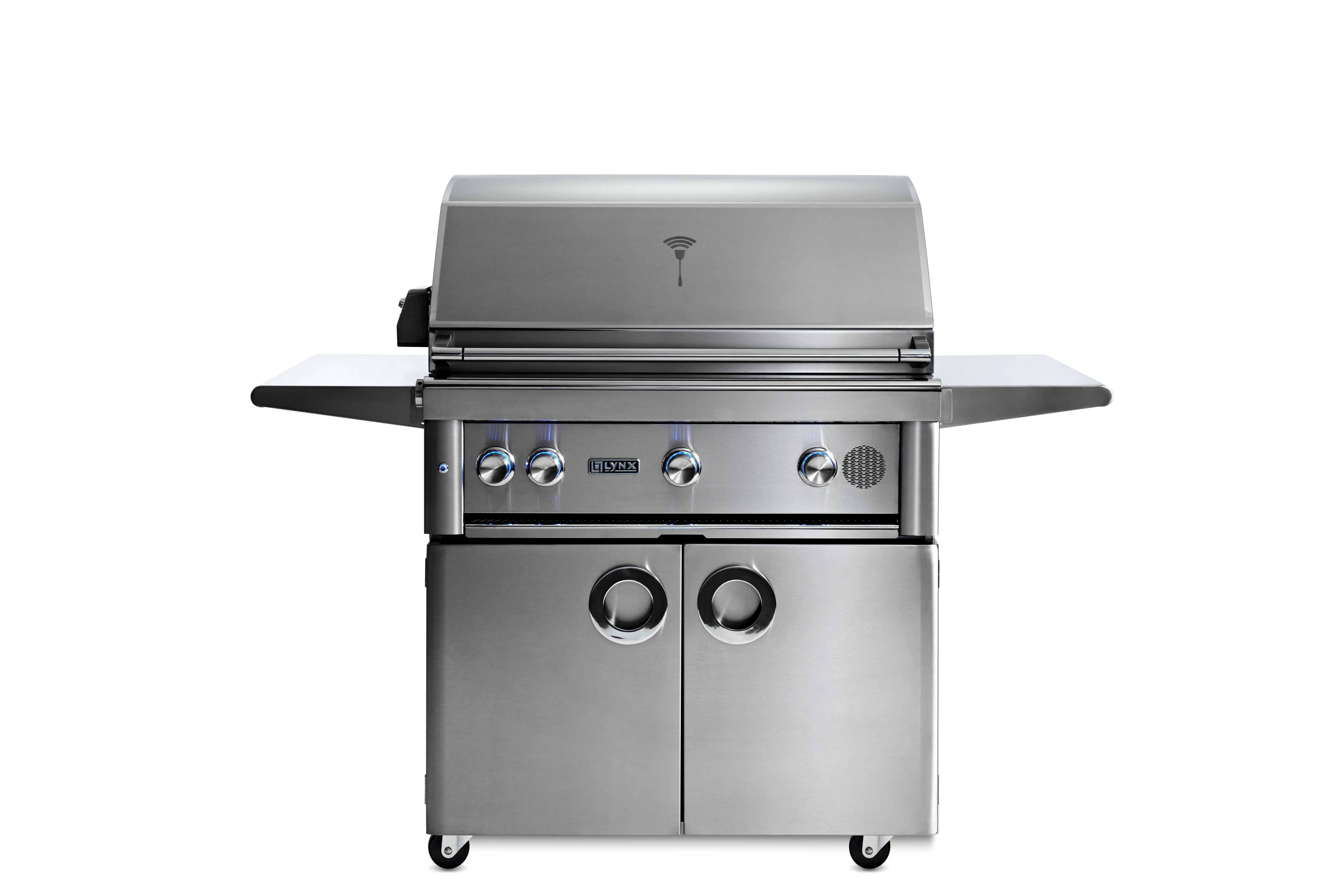 """Lynx 36"""" Lynx Professional Freestanding Smart Grill with Rotisserie, NG"""
