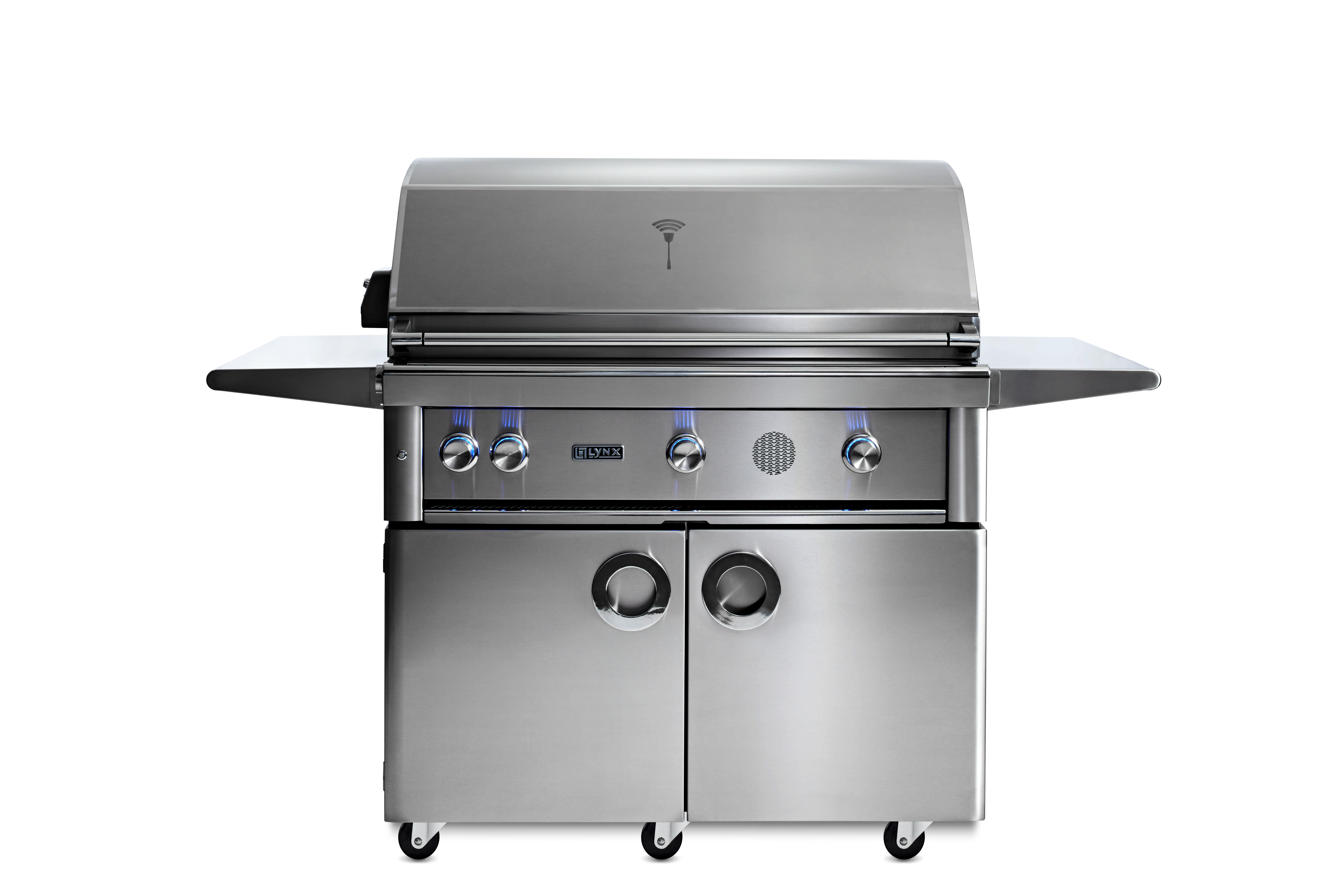 """Lynx 42"""" Lynx Professional Freestanding Smart Grill with Rotisserie, NG"""