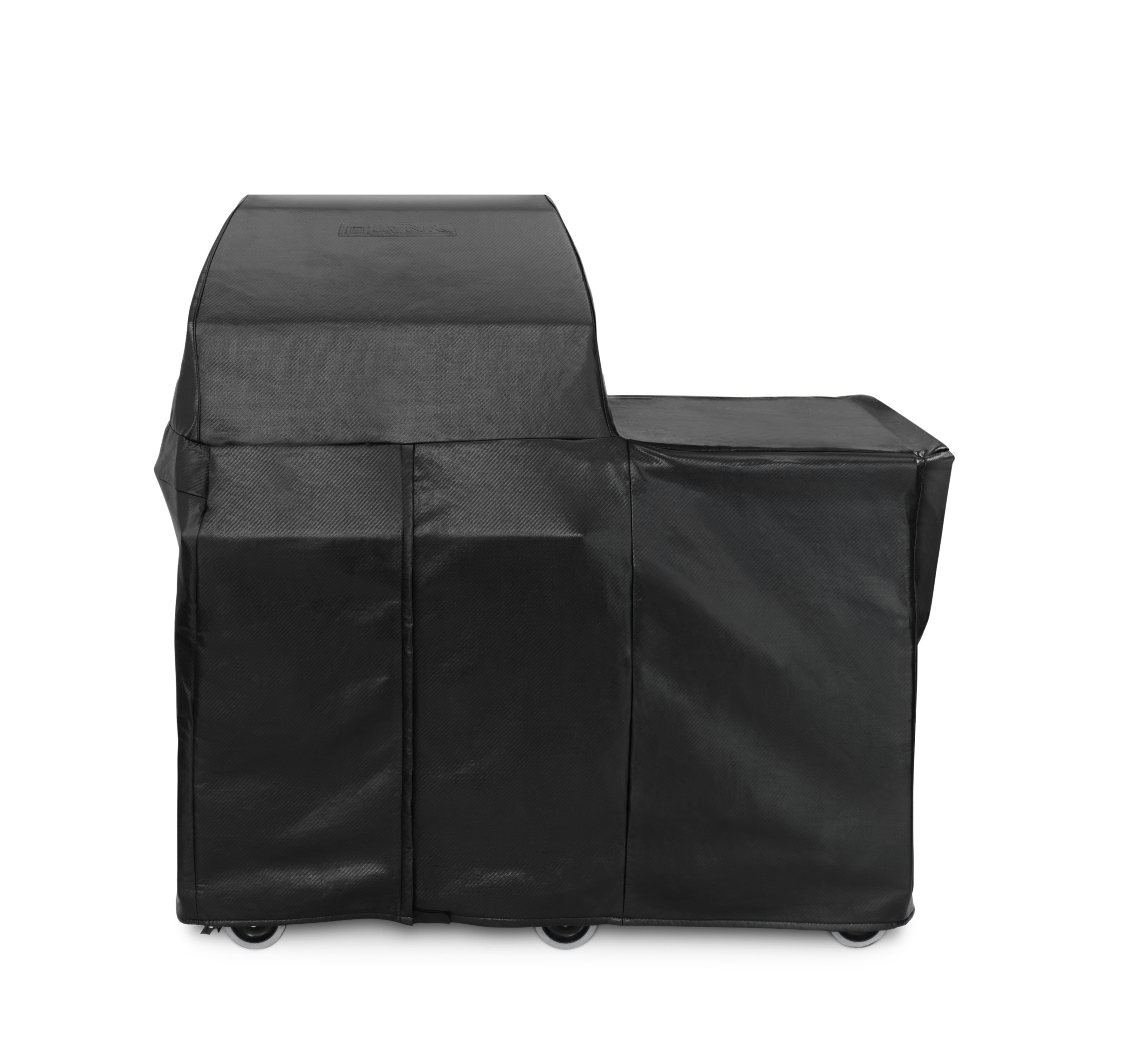 """Lynx 30"""" Grill or Smoker Carbon Fiber Vinly Cover  (Mobile Kitchen Cart)"""