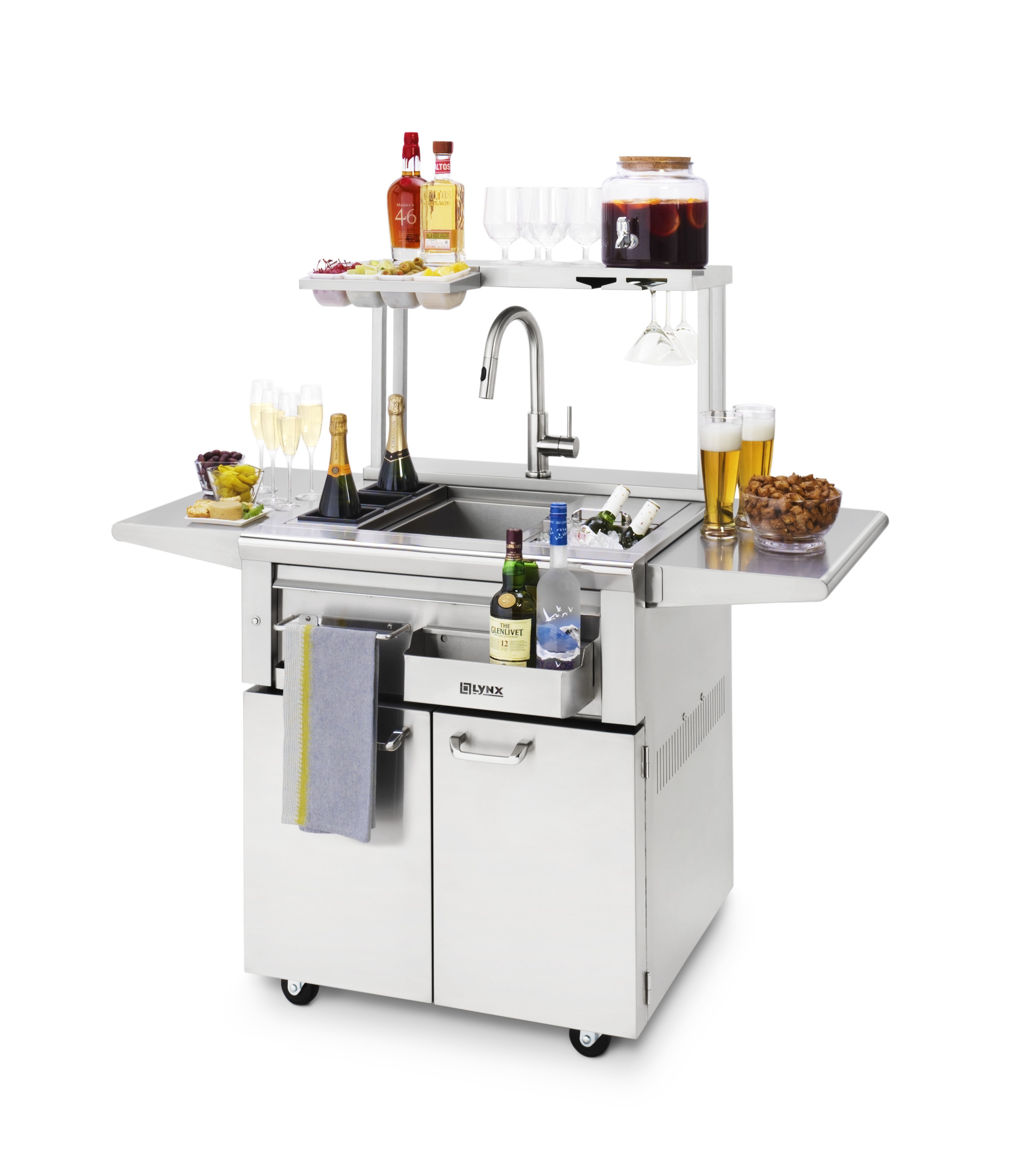 Lynx Freestanding Cocktail Station