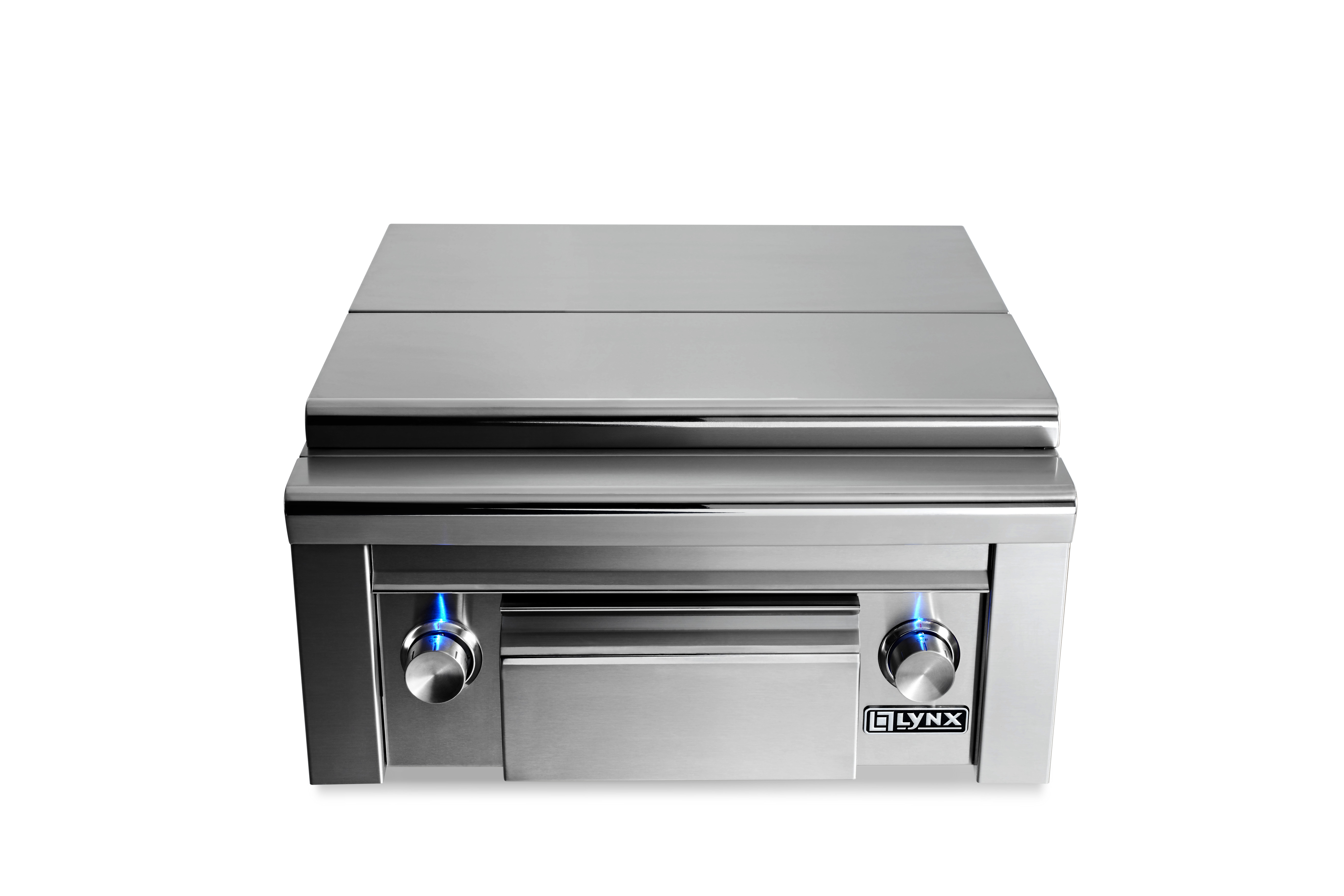 Lynx Prep Center with Double Side Burner NG