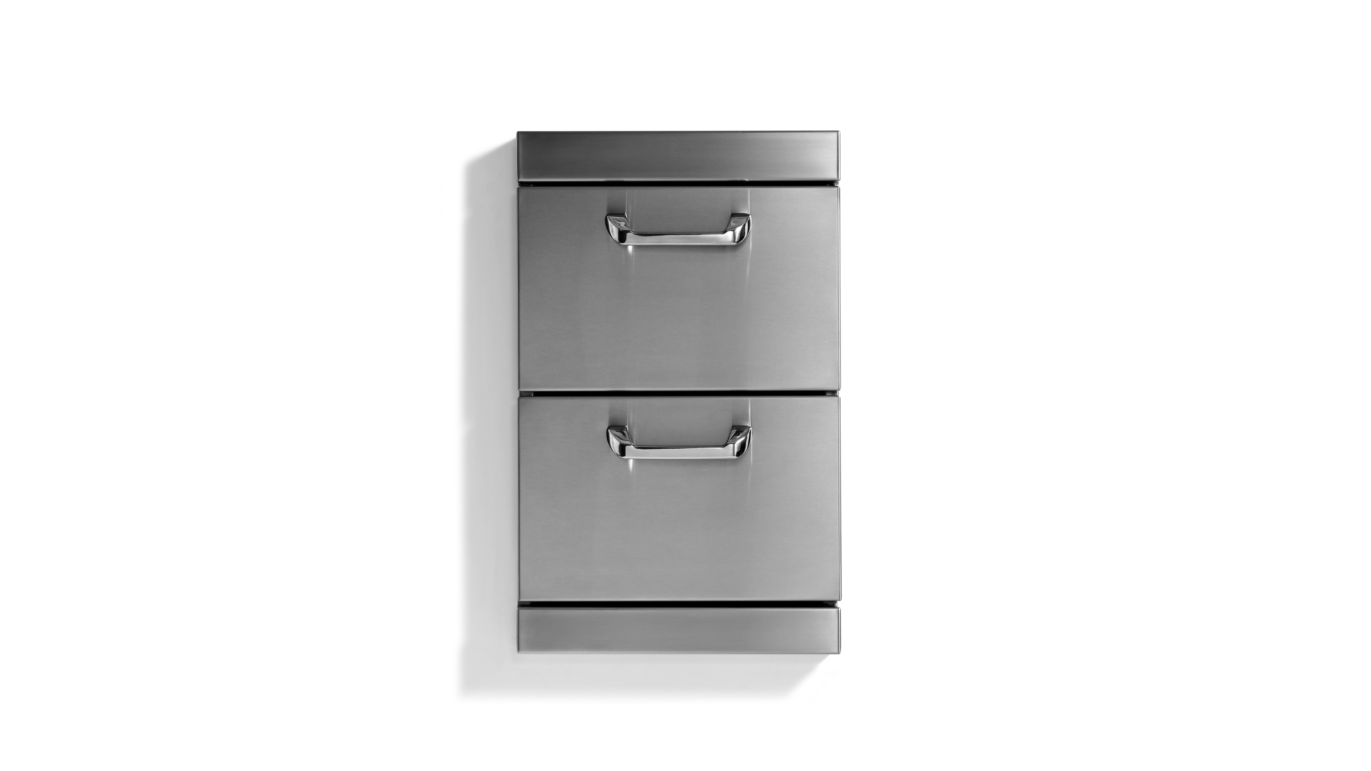 "Lynx Utility Drawers - Two full  standard drawers w/ 5"" offset handles"