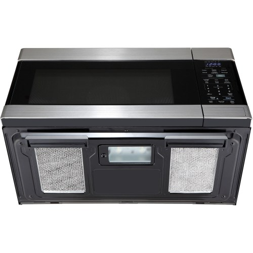 1.6 CF OTR Microwave, 1000W, 2-Speed, Fan, Sensor Interactive - Stainless