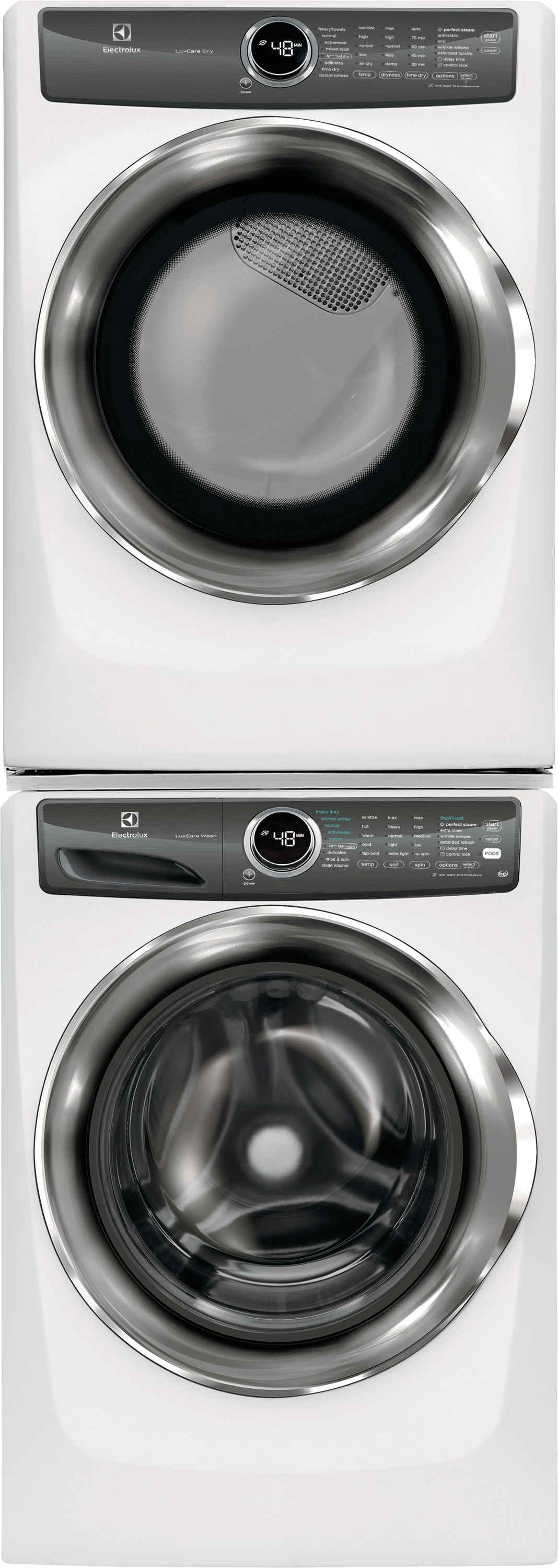 Model: EFLS527UIW | Front Load Perfect Steam™ Washer with LuxCare® Wash - 4.3 Cu. Ft