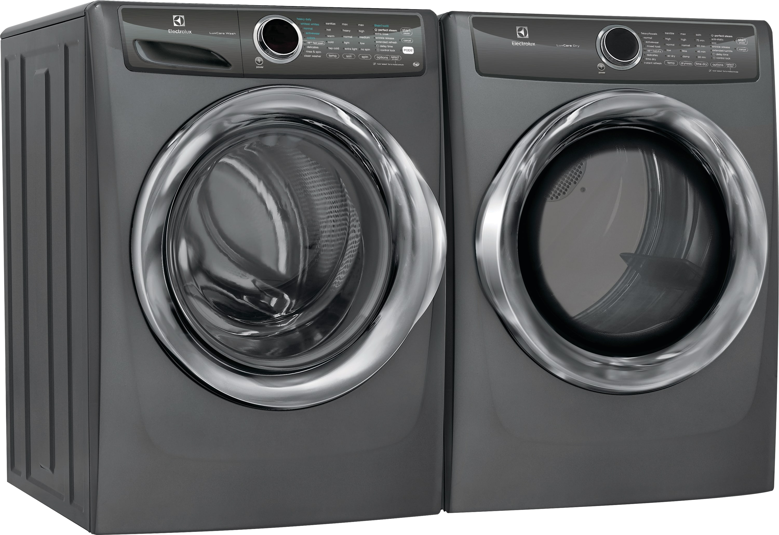 Model: EFLS527UTT | Front Load Perfect Steam™ Washer with LuxCare® Wash - 4.3 Cu. Ft