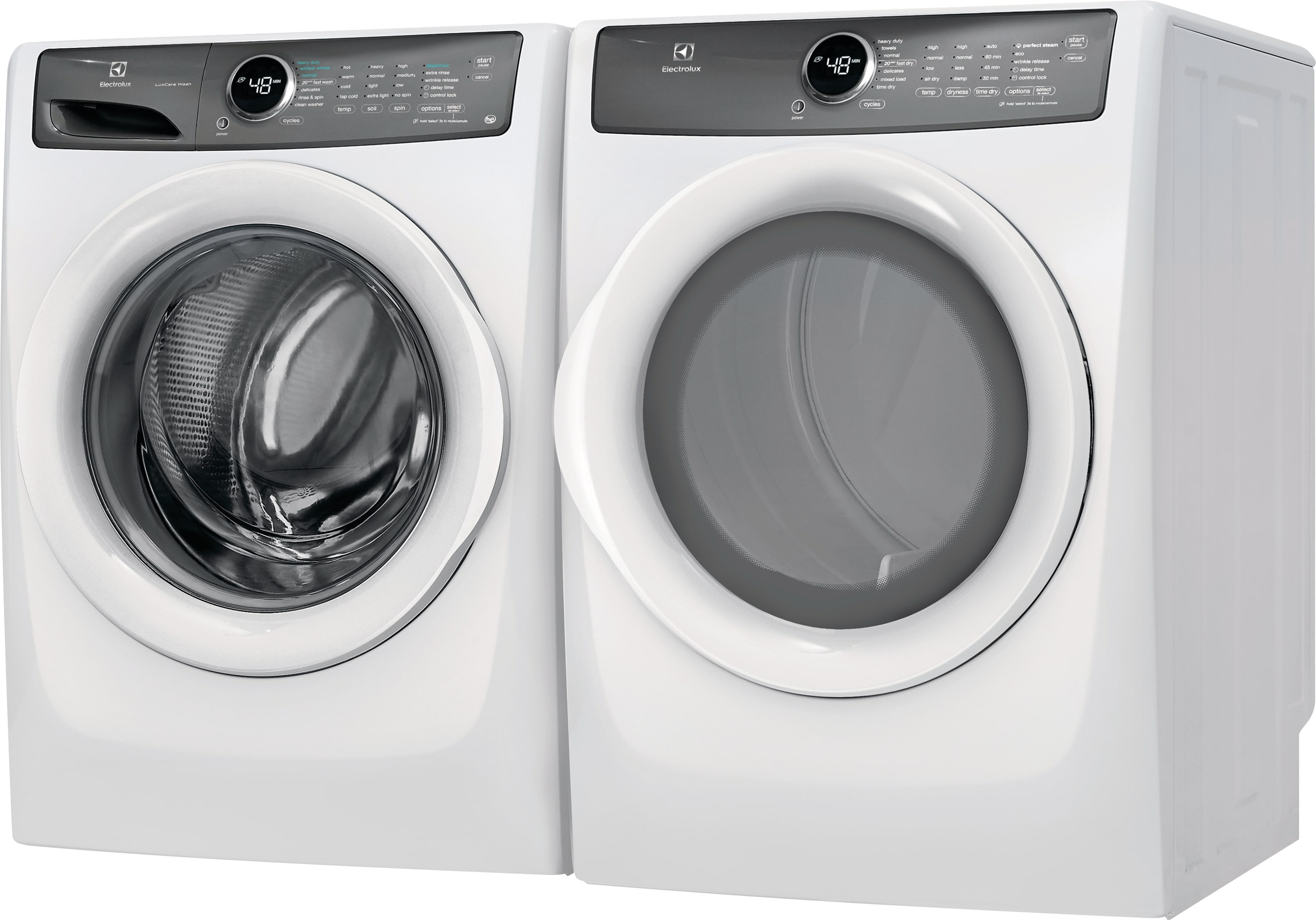 Model: EFLW427UIW | Front Load Washer with LuxCare® Wash - 4.3 Cu. Ft.