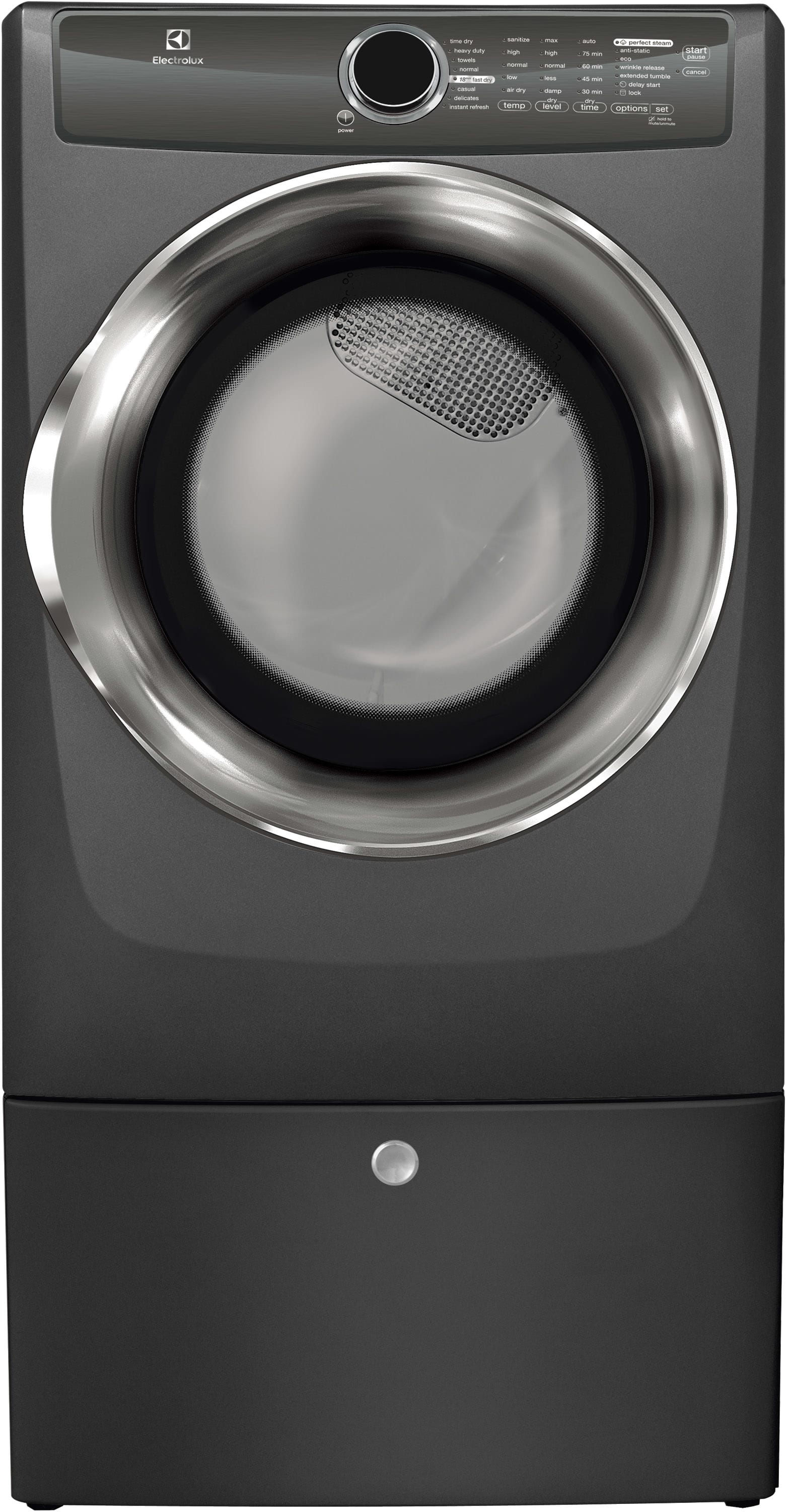 Model: EFMG517STT | Front Load Perfect Steam™ Gas Dryer with Instant Refresh and 8 cycles - 8.0 Cu. Ft.