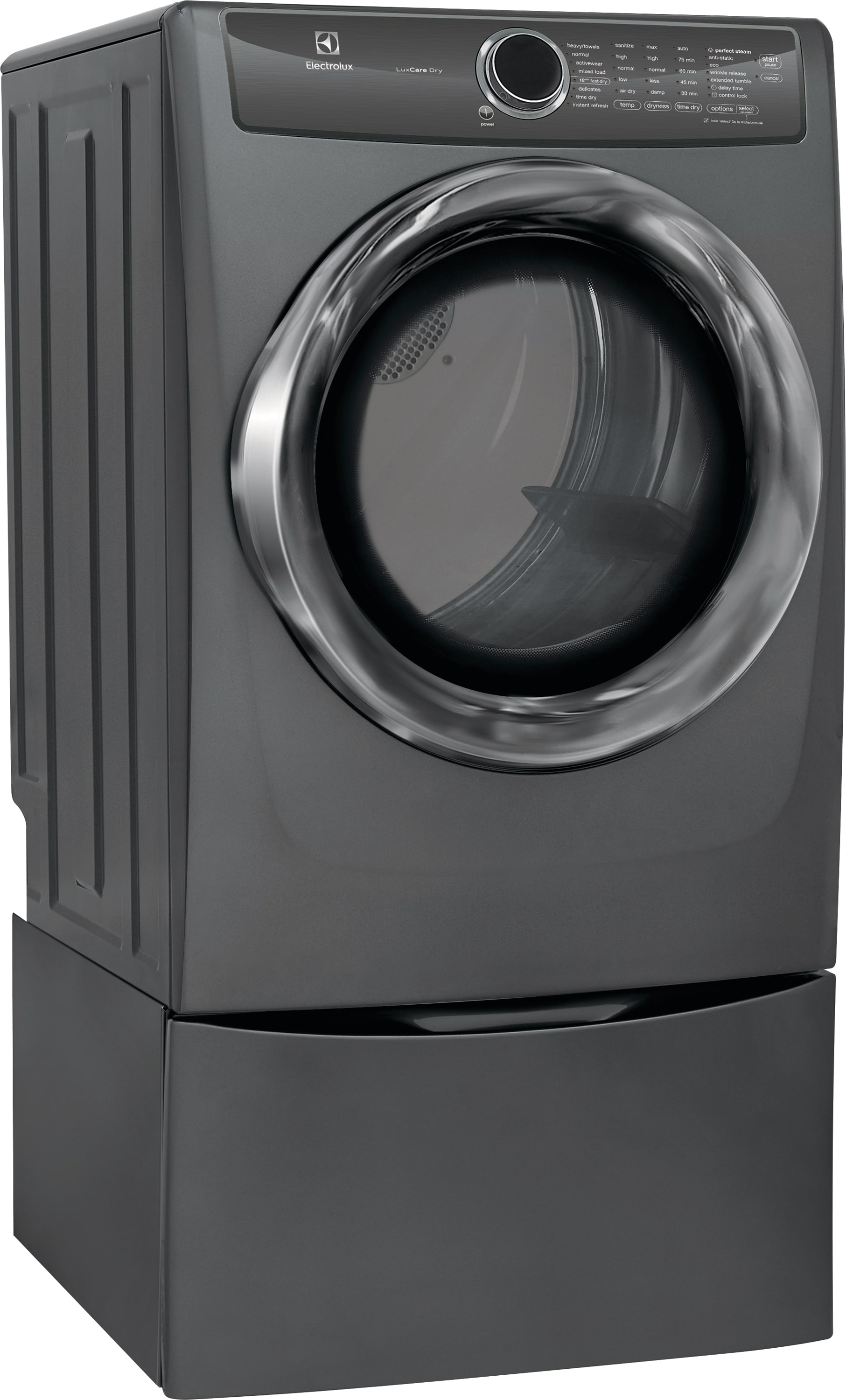 Model: EFMG527UTT | Front Load Perfect Steam™ Gas Dryer with LuxCare® Dry and Instant Refresh - 8.0 Cu. Ft.