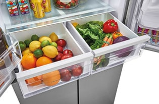 17.4 Cu. Ft. 4 Door Refrigerator