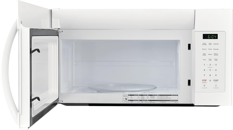 Model: FFMV1745TW | Frigidaire 1.7 Cu. Ft. Over-The-Range Microwave