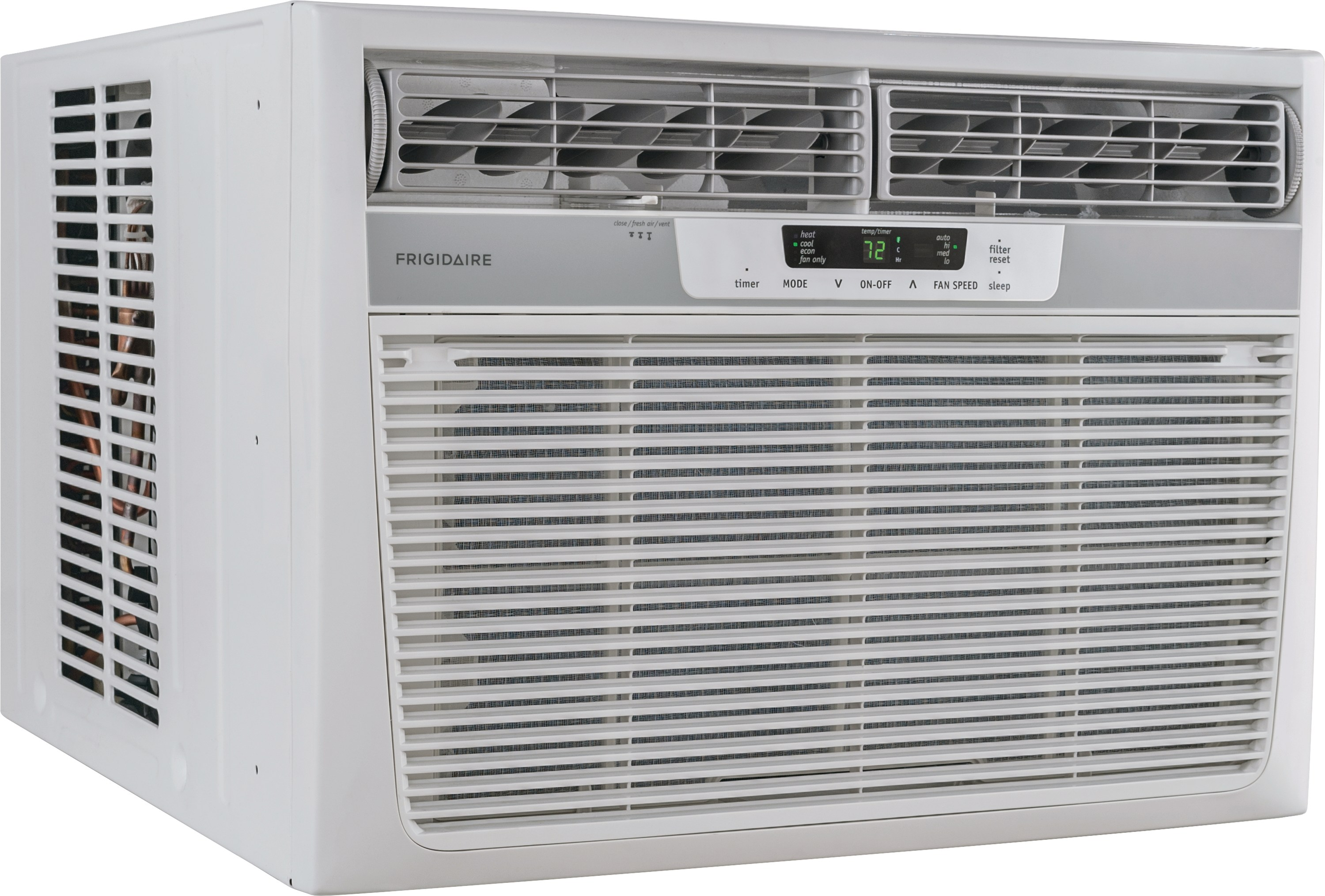 Model: FFRH1822R2 | 18,500 BTU Window-Mounted Room Air Conditioner with Supplemental Heat