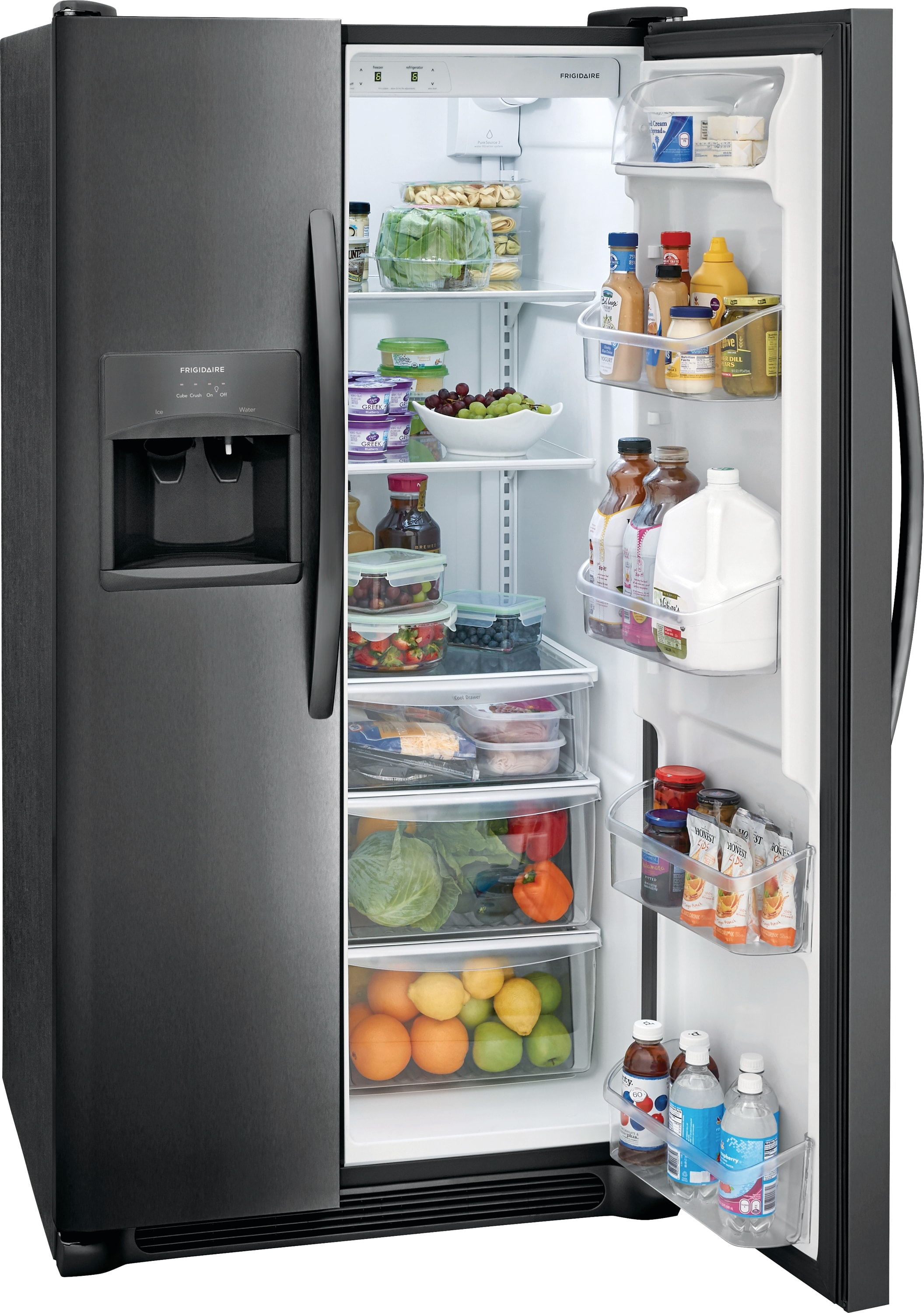 Model: FFSS2615TD | 25.5 Cu. Ft. Side-by-Side Refrigerator