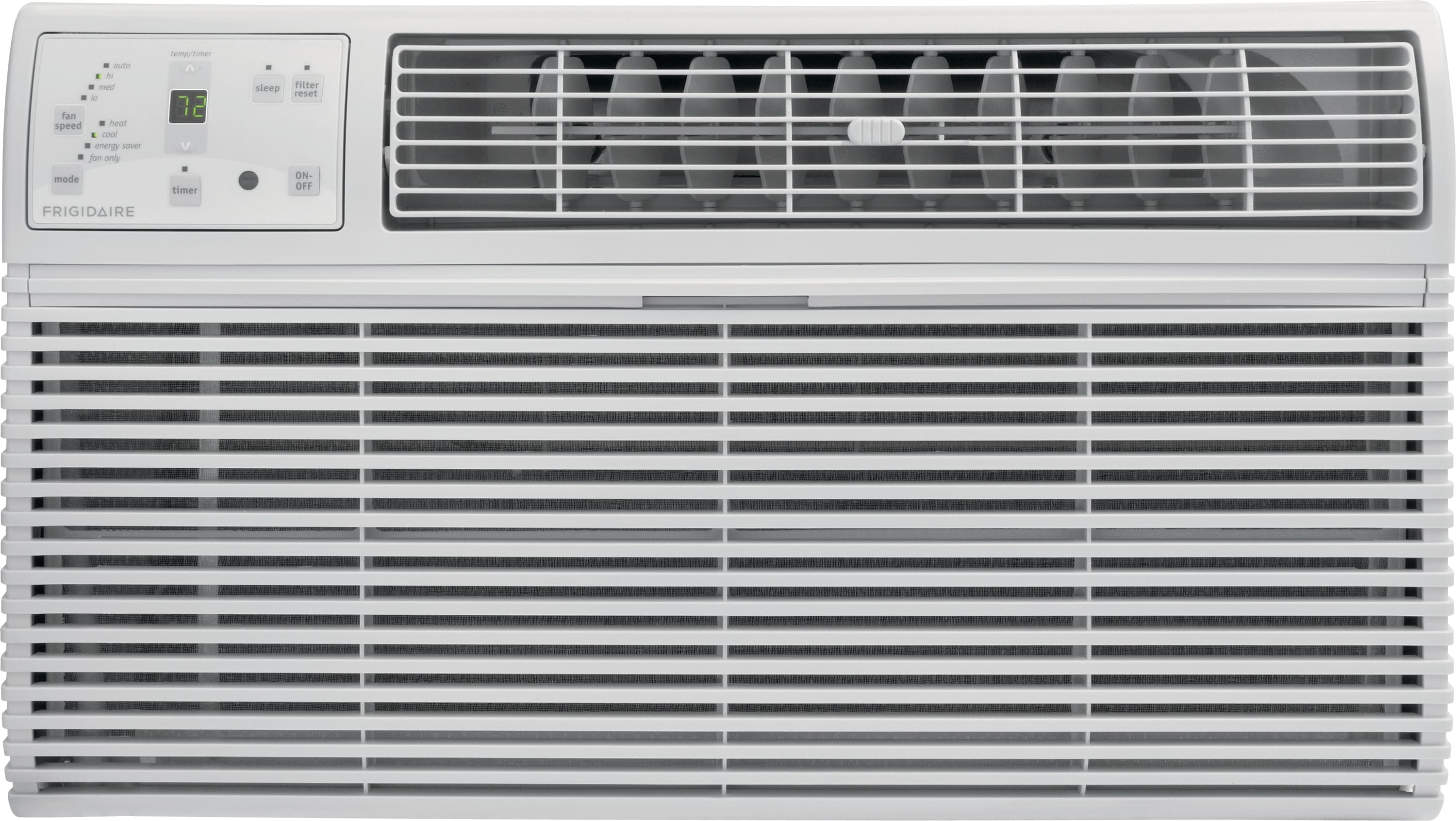 12,000 BTU Built-In Room Air Conditioner with Supplemental Heat