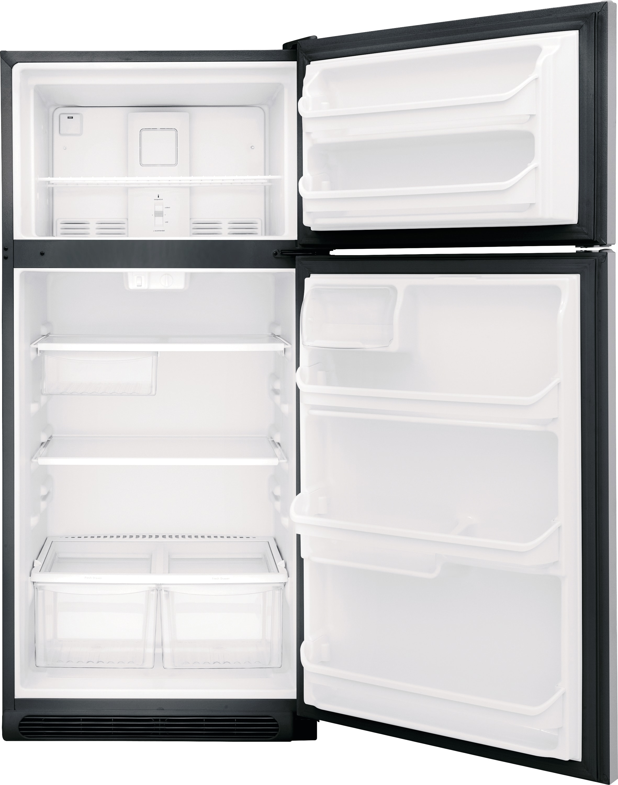 Model: FFTR1821TS | 18 Cu. Ft. Top Freezer Refrigerator