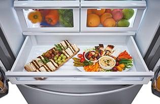 Model: FGHD2368TD | 21.7 Cu. Ft. Counter-Depth French Door Refrigerator