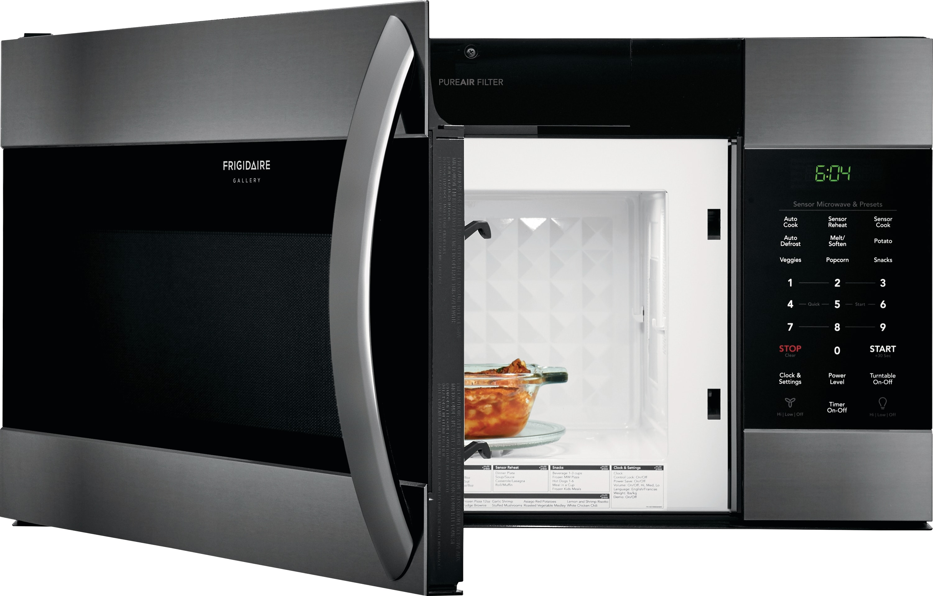 1.7 Cu. Ft. Over-The-Range Microwave