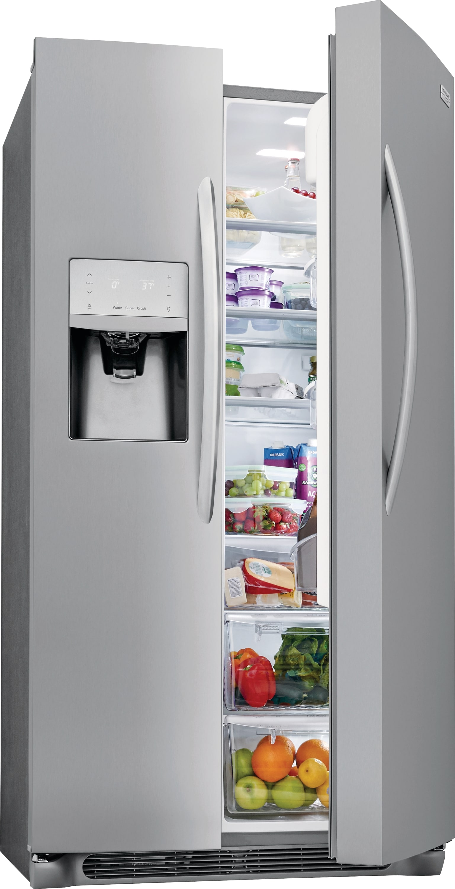 Model: FGSS2635TF | 25.5 Cu. Ft. Side-by-Side Refrigerator