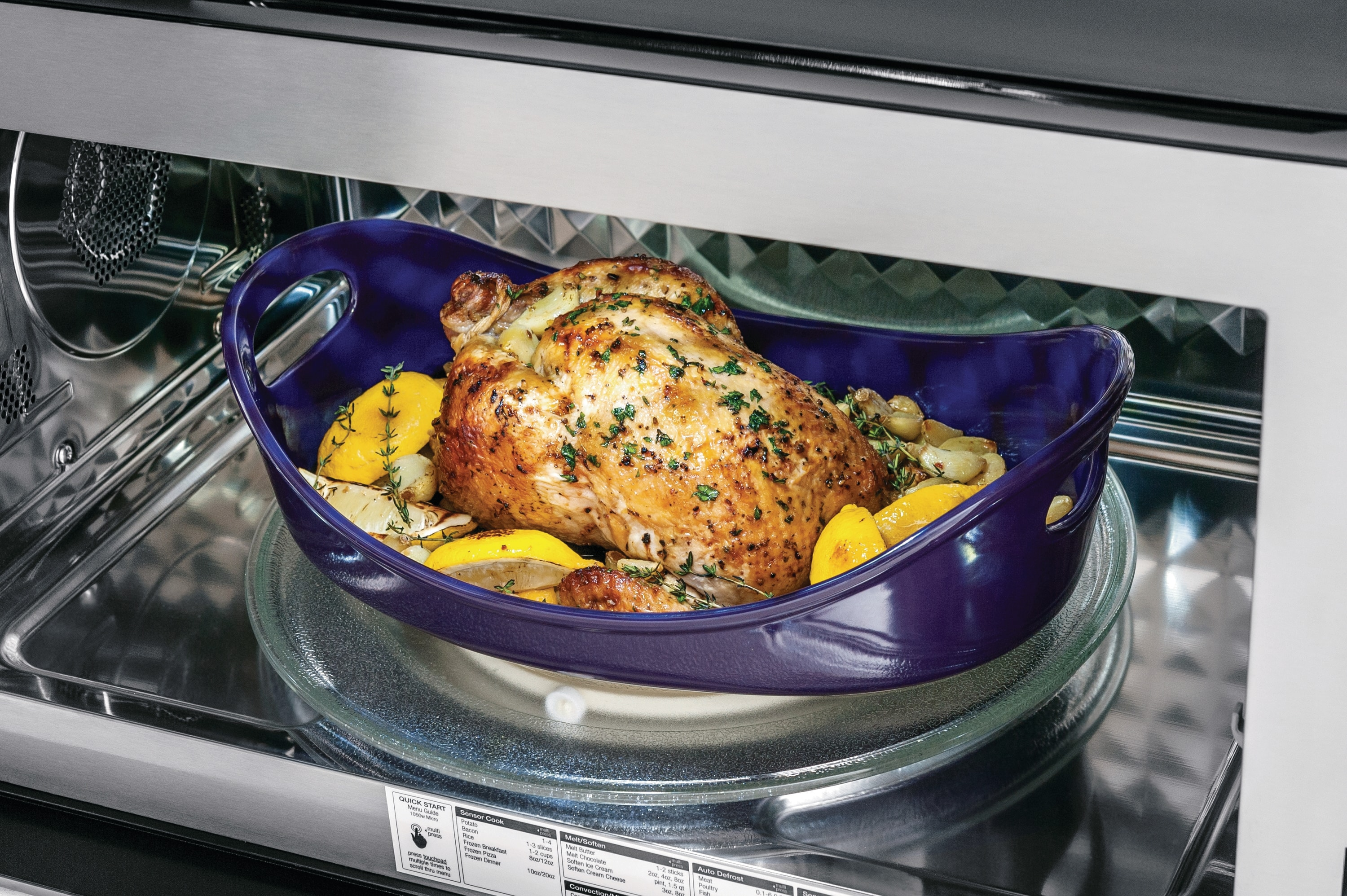 1.8 Cu. Ft. 2-In-1 Over-The-Range Convection Microwave
