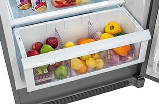 Model: FPGU19F8TF | 19 Cu. Ft. Glass Door All Refrigerator
