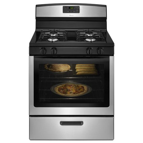 30-inch Gas Range with Easy Touch Electronic Controls