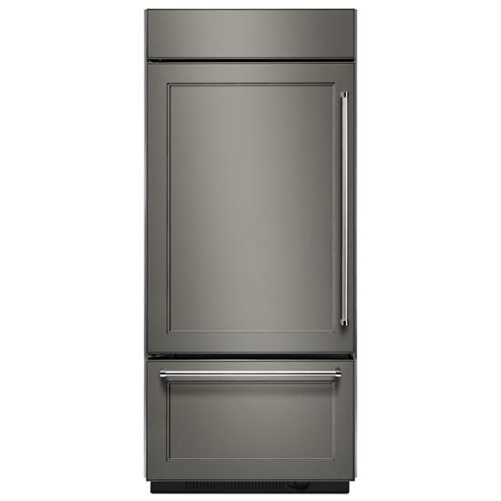 Model: KBBL206EPA | Built-In Panel Ready Bottom Mount Refrigerator 20.9 Cu. Ft. 36