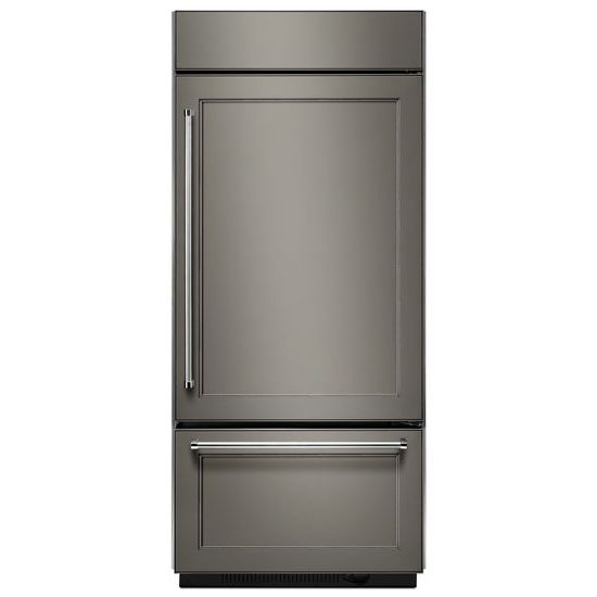 "KitchenAid 20.9 Cu. Ft. 36"" Width Built-In Panel Ready Bottom Mount Refrigerator"