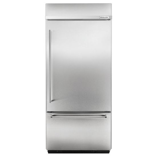 Model: KBBR206ESS | Built-In Stainless Bottom Mount Refrigerator 20.9 Cu. Ft. 36